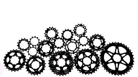 Bicycle titanium cassette spare parts