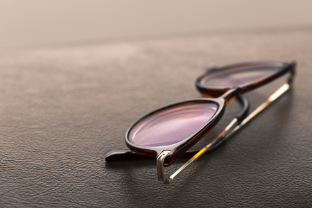 Retro vintage eyeglass is characterized by frames conveying a 50s, 60s, or 70s look