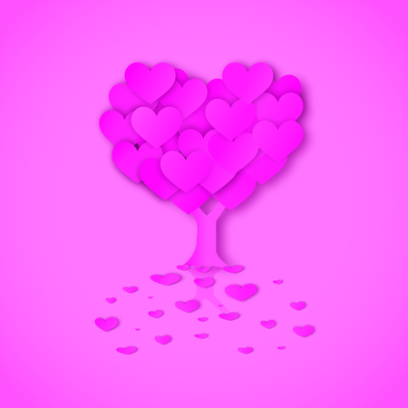 rendezvous: Vector Tree of love Illustration