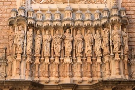 Montserrat monastery sculptures