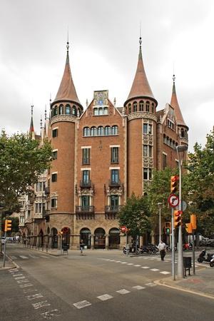 casa: Casa Terrades (Casa de les Punxes), Barcelona