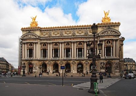 garnier: The Opera Garnier of Paris.