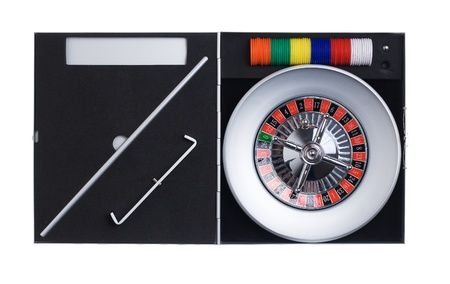 Travel Roulette Stock Photo