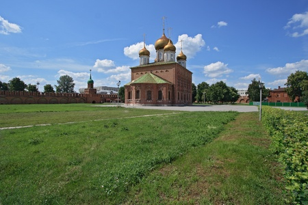 Orthodox Dormition Cathedral in the Tula Kremlin, Russia