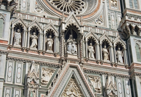 Florence Duomo architectural details