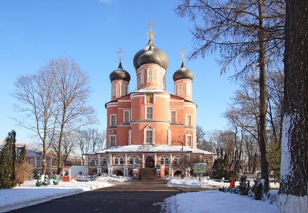 Donskoy Monastery. Great cathedral (Big Cathedral of the Theotokos icon of the Don), 1684-98 photo
