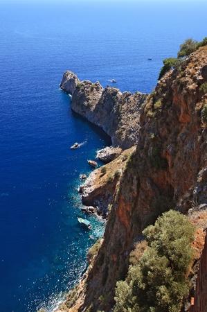 alanya: Rocks at a sea, Alanya