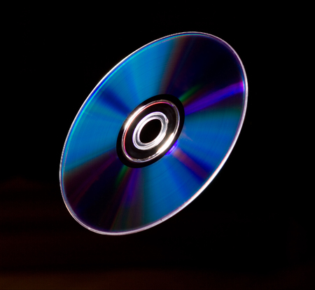 compact disk: Flying compact disk
