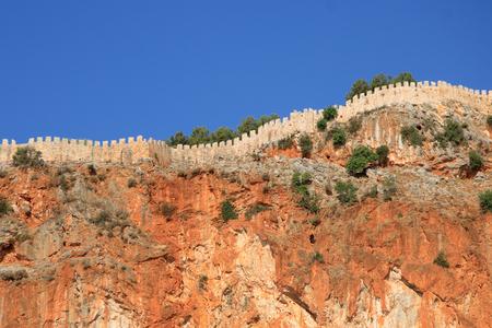 seljuk: Alanya fortress, Turkey