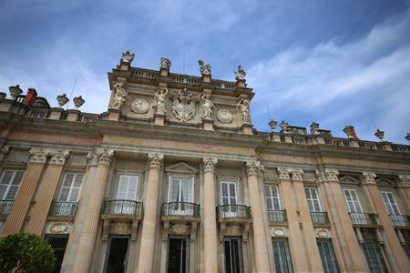 Royal Palace at La Granja de San Ildefonso in Segovia province, Castilla y Leon, Spain