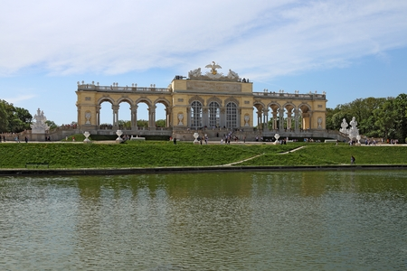 Royal Palace Schoenbrunn in Vienna, Austria