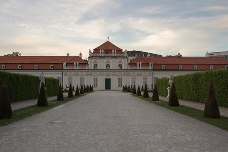 Royal Palace Belvedere in Vienna, Austria