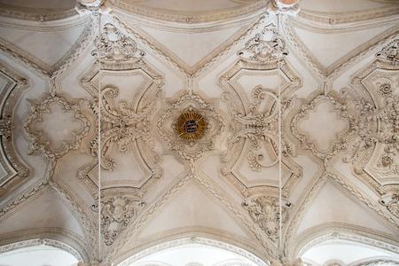 Hofkirche interior view, Innsbruck, Tyrol, Austria Banque d'images - 107230138
