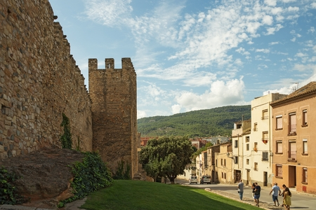The fortress of Montblanc town, Catalonia, Spain