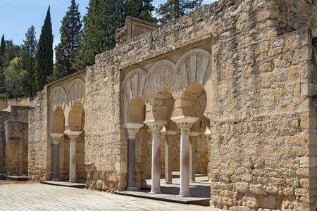 Ruins of Medina Azahara - vast, fortified Andalus palace-city built by Abd-ar-Rahman III (912-961), the first Umayyad Caliph of Córdoba