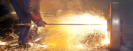 Thermic Lance's melting steel