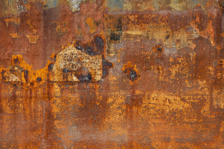 multi layered effect: Rusty metal texture background with multi layered effect