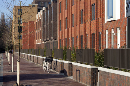multifamily: Residential district Crooswijk in Rotterdam, the Netherlands