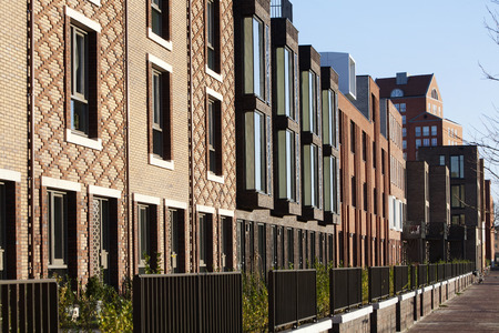 Residential district Rotterdam Crooswijk, the Netherlands 版權商用圖片