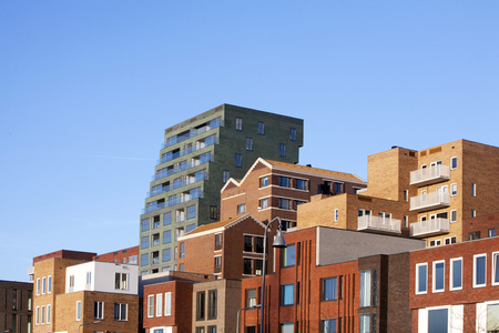 made in netherlands: Residential district Crooswijk in Rotterdam, the Netherlands
