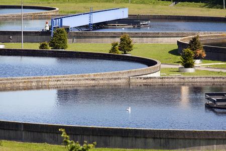 water purification plant: water purification plant