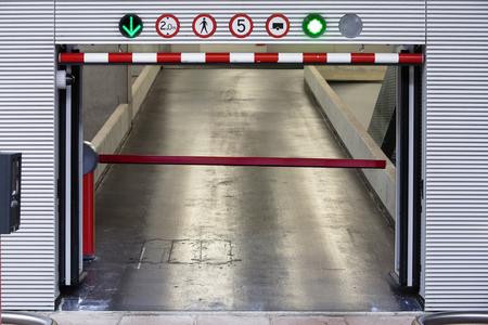 made in netherlands: Parking garage entrance in the Netherlands