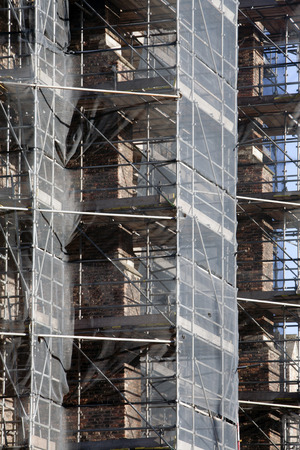 delft: Restoration of a historic building in Delft, the Netherlands