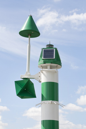 sniffer: Environmental measurement in the Port of Rotterdam, the Netherlands Stock Photo