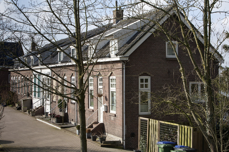 dutch culture: Typical Dutch street from the thirties
