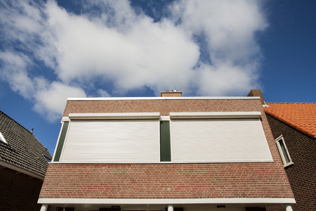 Rolling shutter protection against sun and burglars.