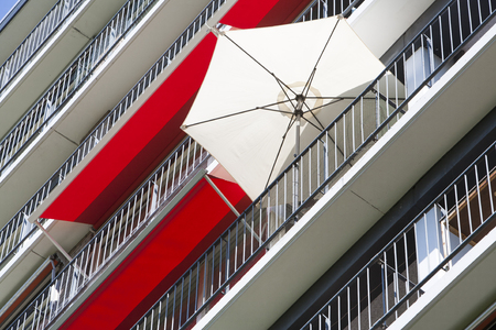 awnings: Parasol and awnings in Rotterdam, the Netherlands