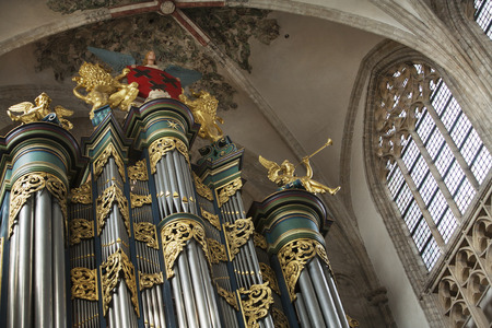 reformation: The organ in the Great Church, or Church of our Lady in Breda in the Netherlands is one of the largest organs in the Netherlands and its history goes back to the 16th century.