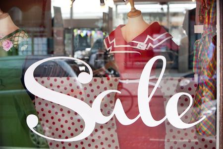 Sales, verkoop, verkoop Stockfoto