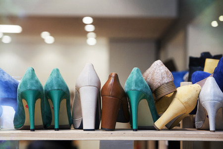 shoe store: High Heels in the shoe store