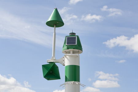 rotterdam: Environmental measurement in the Port of Rotterdam, the Netherlands Stock Photo