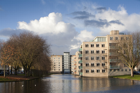 made in netherlands: Residential district Prins Alexander in Rotterdam, the Netherlands Stock Photo