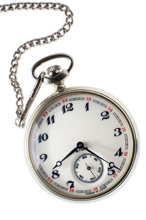 the ussr: Vintage 18 rubis pocket watch made in the ussr Stock Photo
