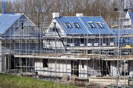 Site de construction résidentielle à Capelle aan den IJssel aux Pays-Bas
