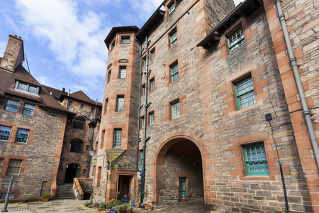 Historic traditional apartments at the Dean village in Edinburg
