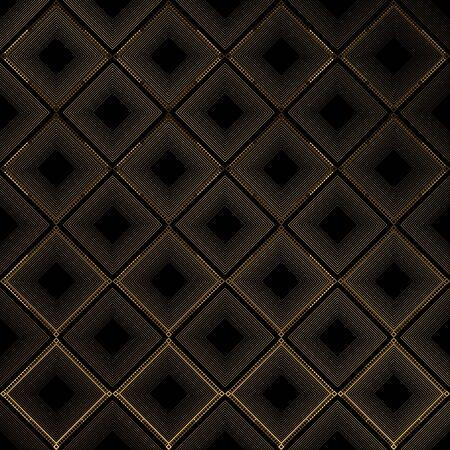 seamless golden geometric pattern on a dark background. royal symbol. Vector Illustration. Elegant decoration symbol. Illusztráció