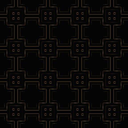 seamless golden pattern on a dark background. heraldic symbol. Vector Illustration. Illusztráció