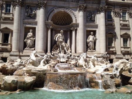 wish: Fontana Di Trevi Stock Photo