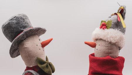 Rag snowmen