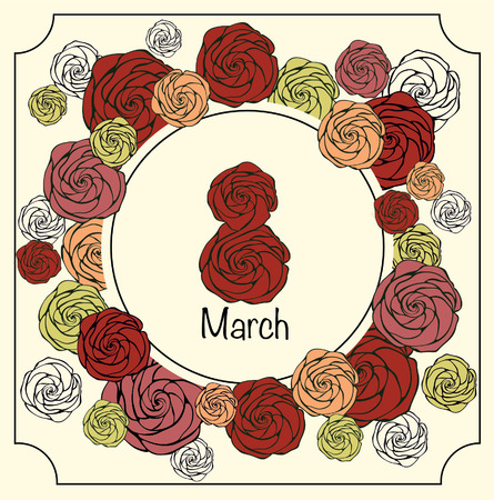 march 8: March 8 illustrations
