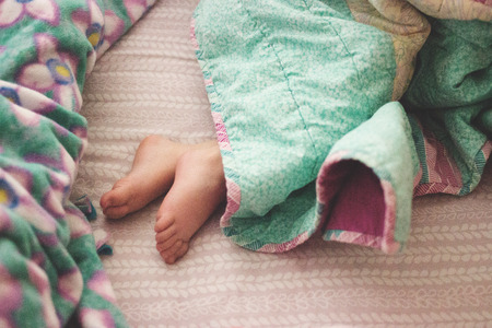 Toddle Feet Napping