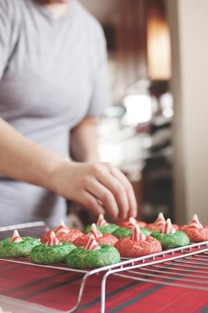 odcisk kciuka: Pieczenia Christmas Cookies