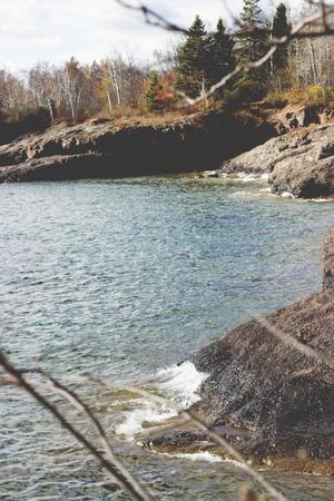 shore: Rocky Lake Shore