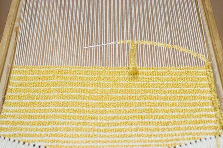 weaving: handmade weaving Stock Photo