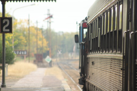 Subway station perspective Zdjęcie Seryjne