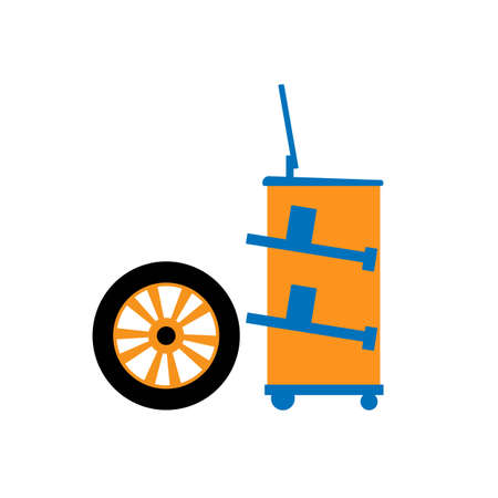 vector icon for wheel geometry